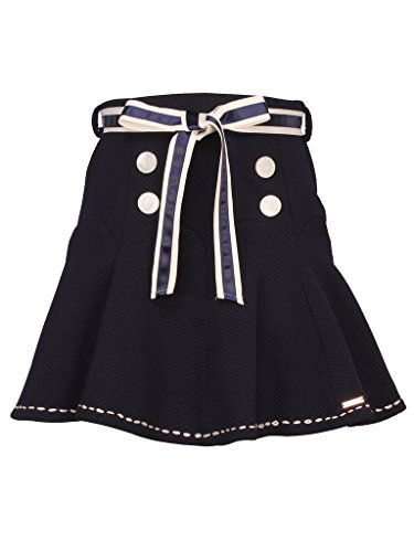 Cutecumber Girls Polyester Embellished Navy Knee Length Skirt  available at amazon for Rs.518