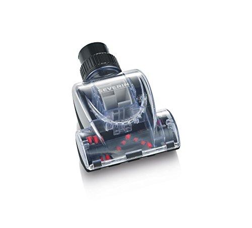 Severin Mini-Turbobürste für Bodenstaubsauger, Inklusive 2 Reduzierhülsen, 17,5 x 12 x 7 cm, TB 7215