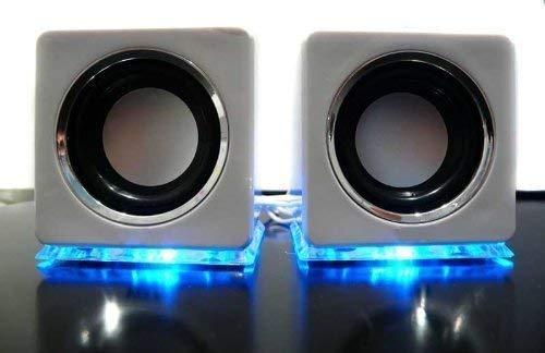 Linq Baffles Haut-parleurs USB élégants Blanc
