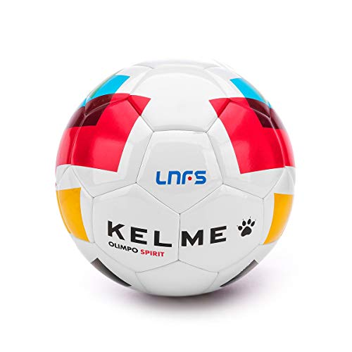 ad84a4f8 KELME Olimpo Spirit Réplica LNFS 2018-2019, Balón, Blanco, Talla 3 (