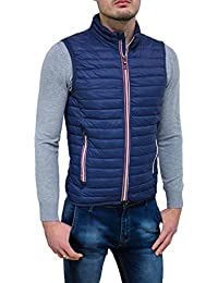 Spring Giubbotto Smanicato Uomo Casual Slim Fit Gilet Piumino Moto Jacket afb423458ee