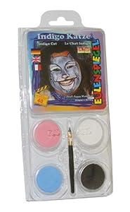 Eulenspiegel - Pintura facial unisex a partir de 3 años (204542)