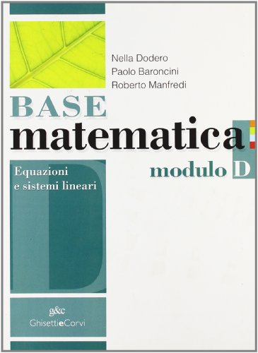 BASE MATEMATICA MODULO D