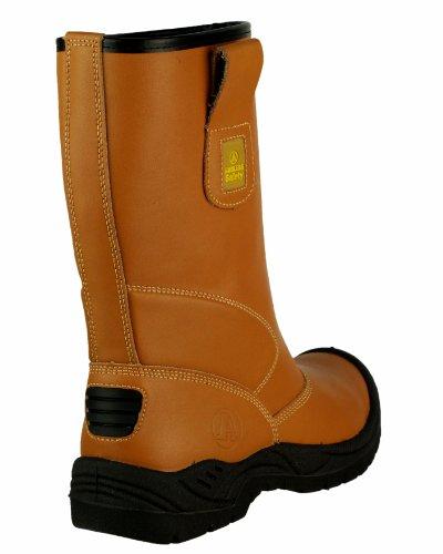 Amblers-Safety FS142 renforcé Rigger botte unisexe femmes hommes Bottes acier Tan