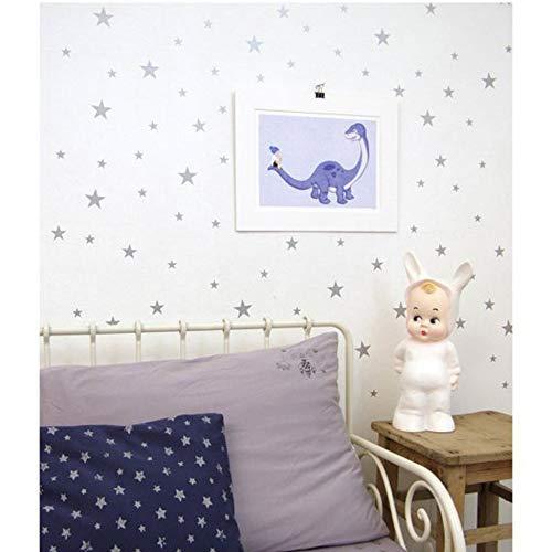 Pattern Wall Sticker Hallway Decor Art for Living Room Silver ()
