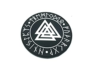 Valknut Nœud des Morts Viking PVC Airsoft Patch