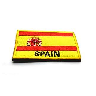 410RgcNSEKL. SS324  - España Español Bandera Gancho Bordado Táctico Placa De Sujeción De Bucle
