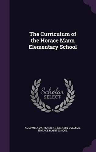 The Curriculum of the Horace Mann Elementary School
