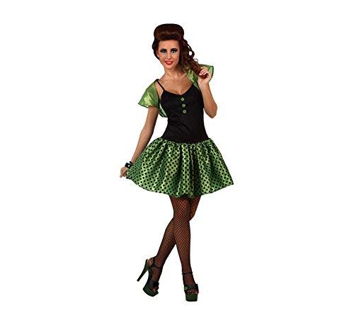 Grünes 60er-Jahre-Kostüm für Damen - M / L (Am 60er-jahre-kostüme Besten)