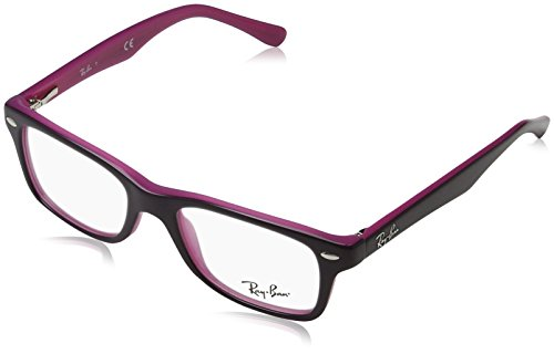 Ray-Ban Rayban Unisex-Kinder Brillengestelle 0RY 1531 3702 46 Violett (Topo Violet On Fucsia),