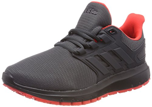 Adidas Energy Cloud 2 w, Zapatillas de Running para Mujer, Negro (Carbon/Carbon/Hi-Res Red 0), 38 EU