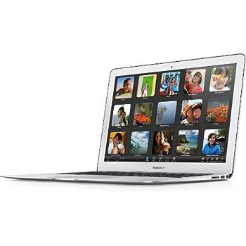 "Apple MacBook Air - Portátil de 13.3"" (Intel core i5, 4 GB RAM, 128 GB HDD, Intel HD Graphics 5000, Mac OS X Mountain Lion), teclado QWERTY Español, color plata"