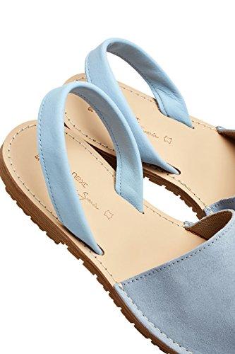 next Femme Sandales de Plage Daim Bleu
