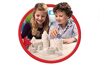 Goliath 83219 - Super-sand-set Castle, Modellierbarer Magischer Sand Bringt Burgen Ins Kinderzimmer, Handliche Sandkasten-box, Bunte Burg-förmchen, Ab 4 Jahren 9