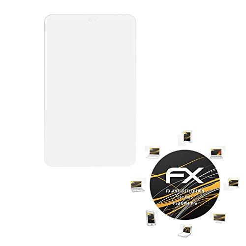 atFolix Panzerfolie kompatibel mit Xoro Pad 8W4 Pro Schutzfolie, entspiegelnde & stoßdämpfende FX Folie (2X)