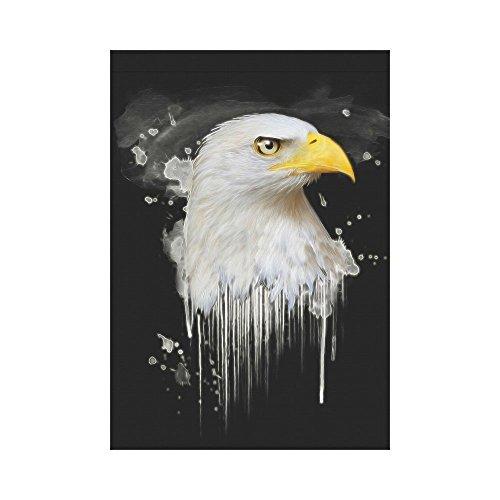 interestprint American Eagle Polyester Garten Flagge Haus Banner 30,5x 45,7cm, Western Wildlife Fahne Deko für Party Yard Home Outdoor Decor, Polyester, multi, 28x40