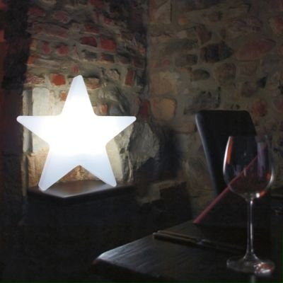 The Star Beleuchteter Outdoor-Stern weiß 80 x 16 cm, h 80 cm von 8 seasons design bei Lampenhans.de