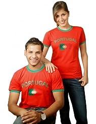 BRUBAKER Portugal Fan T-Shirt Rot Gr. S - XXXL