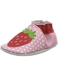 Robeez Lily Fraise, Chaussures de Naissance Bébé Fille