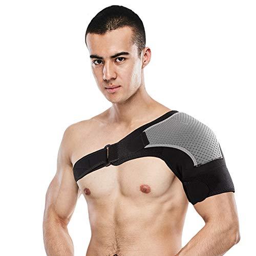 TZTED Verstellbare Schulterbandage Schulterstütze für Verletzungsprävention, Gefrorene Schulterschmerzen, arthritische Schultern, passt für beide Linke rechte Schulter,Leftshoulder -