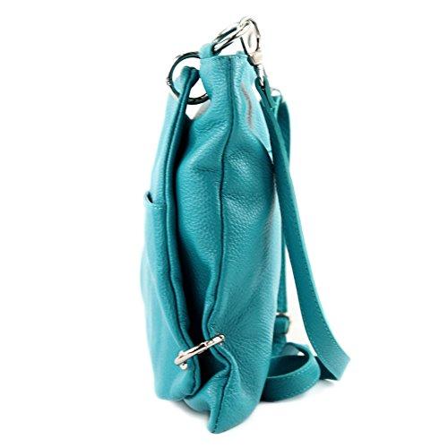 Aclaramiento Mejor Tienda A Comprar Salida Extremadamente modamoda de -. cuoio ital Borsa da donna Messenger bag borsa a tracolla in pelle borsa NT07 2in1 Türkis G4aRRNl