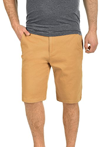 !Solid Lamego Herren Chino Shorts Bermuda Kurze Hose Aus Stretch-Material Regular Fit, Größe:L, Farbe:Apple Cinnamon (6591) (Kurze Apple)