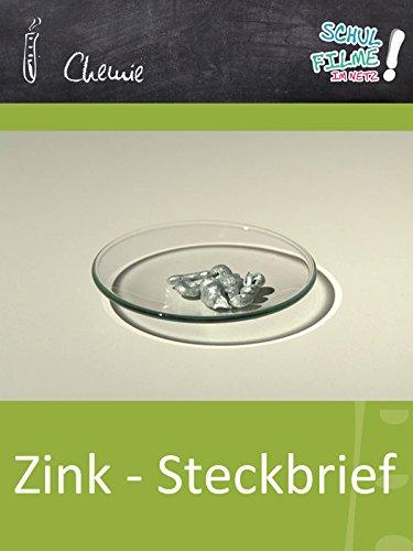 Zink Kombination (Zink - Steckbrief- Schulfilm Chemie)