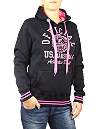 c54aad1b15b9 US Marshall Damen Hoodie Sweater Pullover Jacke mit Kapuze in verschiedenen  Farben