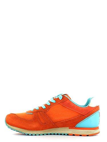 Sneakers nn236 Lotto Donna Rosso ARANCIO-CELESTE