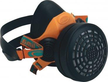 Triuso - Máscara para pintura a pistola, con filtro de vapores orgánicos, L