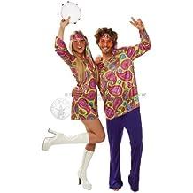 Rubies Costume Co - Disfraz de pareja de hippies, para adultos