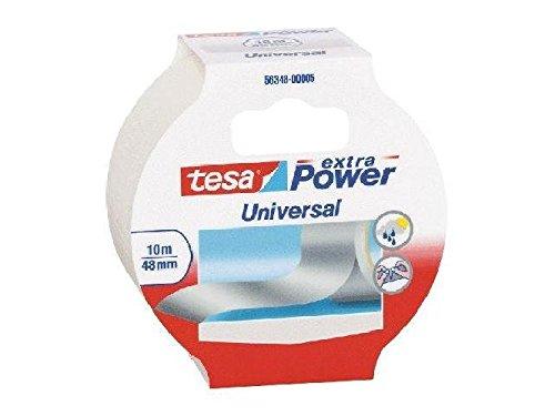 Gewebeklebeband extra Power Universal, 10 m x 48 mm, weiß