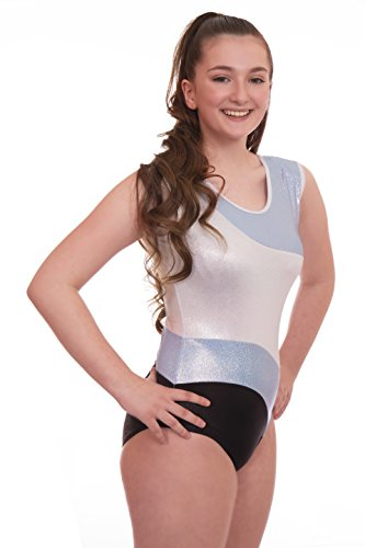 Vincenza Dancewear Deluxe Alisha Gymnastic Sleeveless Leotard (13-14 Years 34