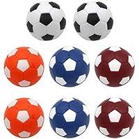 LIOOBO Bolas de reemplazo para balones de fútbol de Mesa de 8 Piezas Mini  Accesorio de 17200e2f8d46e