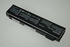 Original Pc portable Laptop Batterie pour MSI BTY-M52 11,1v 4800mAh Li-ion, Noir
