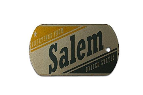 Hundemarke Erkennungsmarke Stadt Salem USA bedruckt