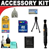 8GB Deluxe DB ROTH Accessory KitFor The RCA EZ300HD Small Wonder HD Camcorders