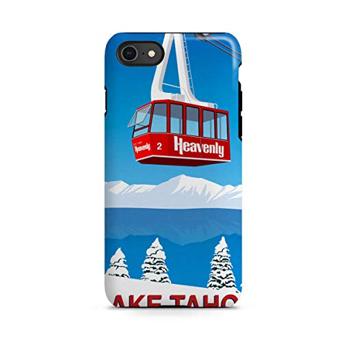 artboxONE Apple iPhone 8 Tough-Case Handyhülle Lake Tahoe California von Steve Ash