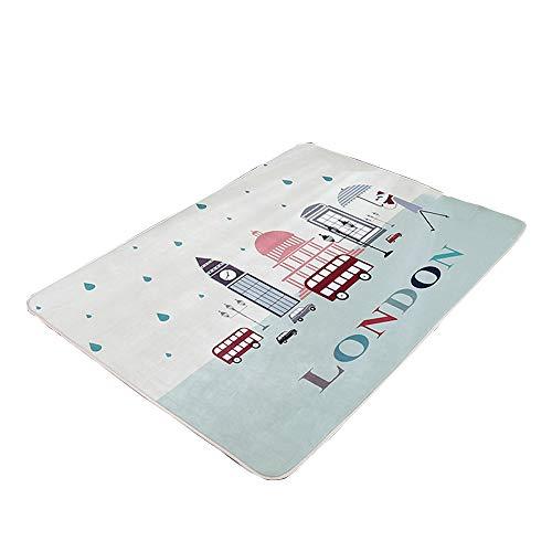 household products Tapis Rampant pour Enfants, Tapis Moelleux, Tapis en Tatami, 150X200CM, Convient au Salon de la Chambre à Coucher au Chevet du lit.