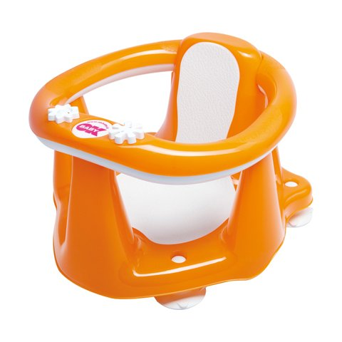 Poltroncina bagnetto Okbaby Flipper Evolution 45 Arancio Flash [cod 799]
