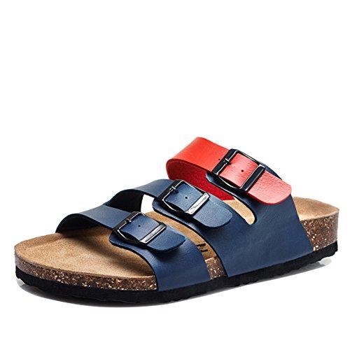 Sommer-Wort Kork-Hausschuhe/Rutschfeste Schuhe/Koreanische paar Freizeitschuhe C