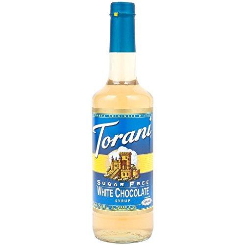 Torani Sirup Weiße Schokolade zuckerfrei 750 ml -