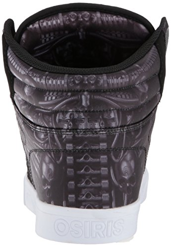 Osiris Clone Daim Chaussure de Basket Huit-Alien