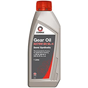 Comma SXGL41L 1L SX75W-90 GL-4 Semi-Synthetic Gear Oil pas cher