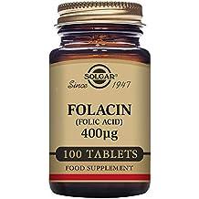 Solgar Acido Fólico 400 Mcg - 100 Tabletas