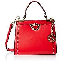 Zeneve London Satchels Bag For Women, Red, 119781500026
