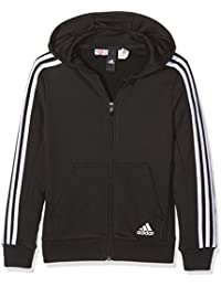 adidas Jungen Essentials 3-Stripes Full Zip Hoodie