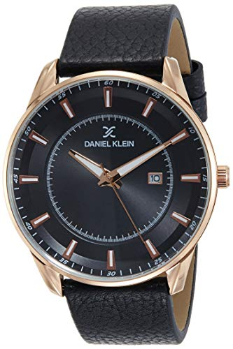Daniel Klein Analog Black Dial Men's Watch-DK12011-2