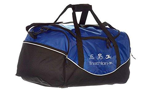 Tasche Team QS70 blau/schwarz Triathlon