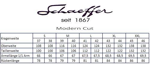 Schaeffer Hemd Modern Cut himmelblau Hai weiß Himmelblau